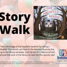 Things to do in Merrimack Valley, MA for Kids: StoryWalk®, Tewksbury Public Library