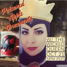 Halloweentime Crafting with Wicked Queen