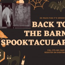 Back to the Barn Spooktacular