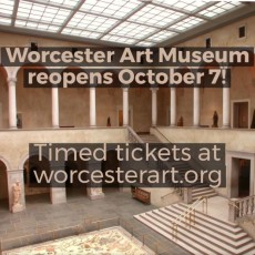 Worcester, MA Events for Kids: Kids Visit WAM For Free!*