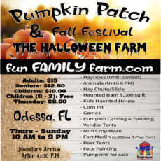 Wesley Chapel-Lutz, FL Events for Kids: Pumpkin Patch, Fall Festival & The Halloween Farm