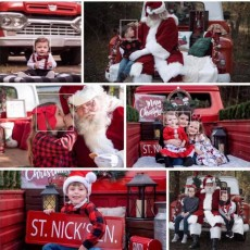 Charleston, SC Events for Kids: Santa and holiday photos @ Crosswind Farm (social distancing)