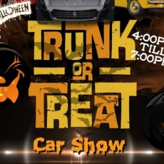 Trunk or Treat Car Show