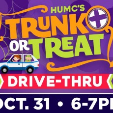 HUMC's Trunk-or-Treat Drive-Through