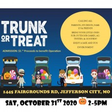 Jefferson City Jaycees 12th Annual Trunk or Treat