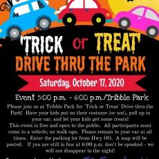 Trick or Treat Drive Thru the Park