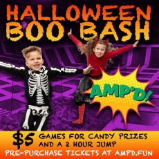Things to do in Amarillo, TX for Kids: BOO BASH, AMP'D Amarillo