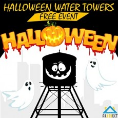 Halloween Water Towers