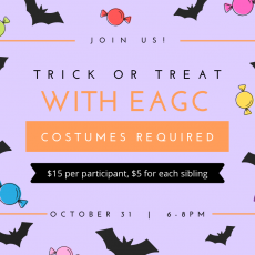 Trick or Treat with EAGC