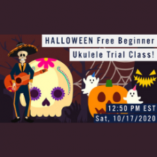 Things to do in Lafayette Parish, LA: Halloween Free Beginner Ukulele Class