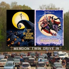 Worcester, MA Events for Kids: The Nightmare Before Christmas & Hocus Pocus at Mendon Twin Drive-In