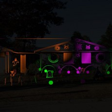 Things to do in Arlington Heights-Palatine IL for Kids: Halloween Light Show, Storozhuk Family Light Show