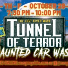 Things to do in Bowling Green, KY for Kids: Tunnel of Terror, Soap My Ride BG