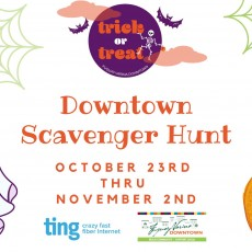 Things to do in Wake County South, NC for Kids: Trick-or-Treat Downtown Scavenger Hunt, Fuquay-Varina Downtown Association