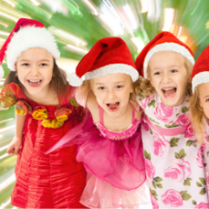 Things to do in Hulafrog at Home for Kids: Princess Christmas Caroling, Ice Queen Cosplay