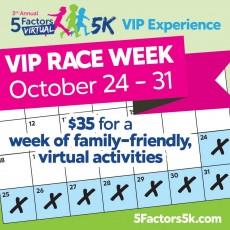 5 Factors (virtual) 5K