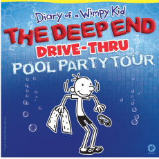 Red Bank, NJ Events for Kids: Diary of a Wimpy Kid - The Deep End Drive-Thru Tour
