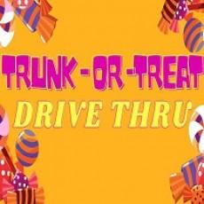 Drive Thru Trunk or Treat!