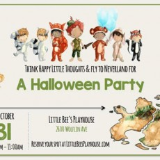 Things to do in Amarillo, TX for Kids: Neverland Halloween Party - (Oct. 31st), Little Bee's Playhouse