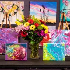Olathe, KS Events for Kids: DIY Marble Art Class {Ages 5+}