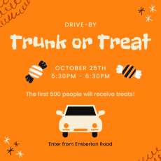 Drive by Trunk or Treat