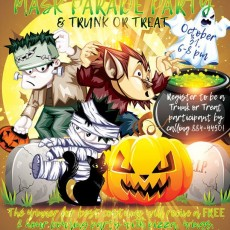 Things to do in Warwick, RI for Kids: Halloween Mask Parade Party & Trunk Or Treat, Kingstown Bowl