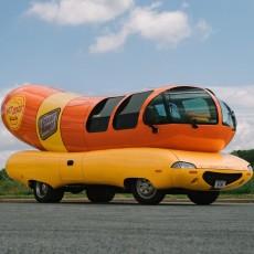 Oscar Mayer Wienermobile at Marana Pumpkin Patch