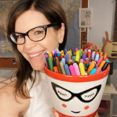 Things to do in Southern Monmouth, NJ for Kids: Lisa Loeb Halloween Coloring Party, Crayola
