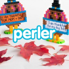 Worcester, MA Events for Kids: Kids Club Online: 3D Perler Thankful Turkey
