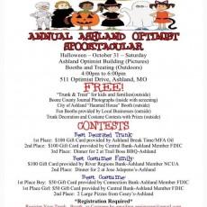 Annual Ashland Optimist Spooktacular
