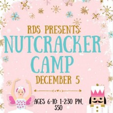 Olathe, KS Events for Kids: Nutcracker Camp & Performance {Ages 6-10}