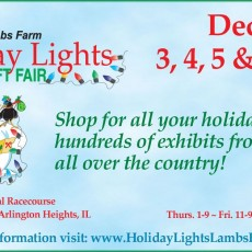 Lambs Farm Holiday Lights Gift & Craft Fair