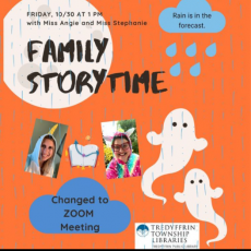 Things to do in Main Line, Pa: Family Halloween Storytime