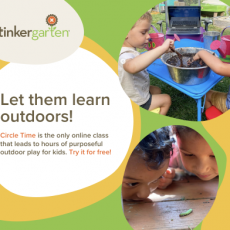 Things to do in Richmond South, VA for Kids: Free Online Circle Time Class!, Tinkergarten
