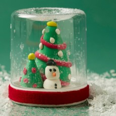 [National] 24 Days of Merry Making: Model Magic ® Snow Globe
