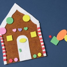 Gingerbread Card Craft