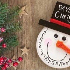 [National] 24 Days of Merry Making: Snowman Christmas Countdown Clock
