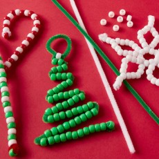 [National] 24 Days of Merry Making: Pony Bead Ornaments