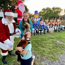 Things to do in Palm Beach Gardens, FL for Kids: Jolly Safari & WinterWonderland Festival Of Lights, Animal EDventure Park