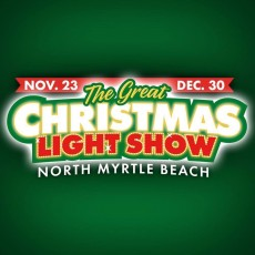 Things to do in Myrtle Beach, SC for Kids: The Great Christmas Light Show, North Myrtle Beach Park and Sports Complex