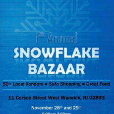 Things to do in Warwick, RI for Kids: 1st Annual Snowflake Bazzar, Millonzi's\/Millonzi Fine Catering