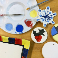 Paint Your Own Ornament or Tray Family Pop-Up