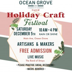 Southern Monmouth, NJ Events for Kids: Holiday Arts & Crafts Festival