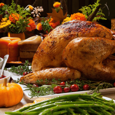 Sentry Thanksgiving & Christmas 2020 Holiday Deluxe Turkey or Ham Dinners