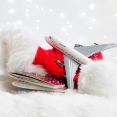 Things to do in Cape May County, NJ for Kids: Christmas at the Hanger from the NASW, Naval Air Station Wildwood Aviation Museum