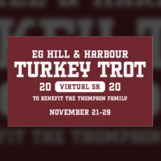 Things to do in Warwick, RI for Kids: Virtual EG Hill & Harbour Turkey Trot 11/21-11/29, Main Street Association of East Greenwich