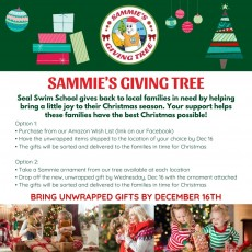 Things to do in Wesley Chapel-Lutz, FL for Kids: Sammie's Giving Tree, Seal Swim School