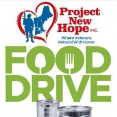 Food Drive for Veterans