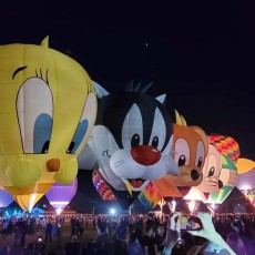 Things to do in Orlando, FL for Kids: Orlando Balloon Glow, Orlando Balloon Glow
