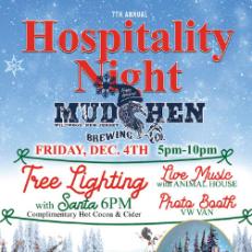 ***CANCELLED*** Hospitality Night, Tree Lighting & Santa!